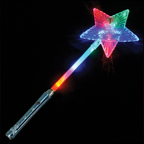 Giant star wand novelty fundraising for Galaxy wand