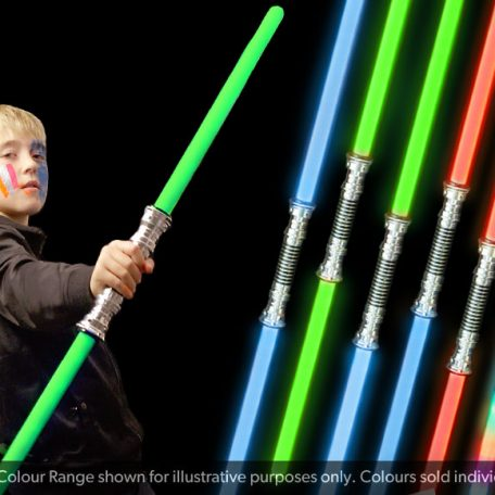 Double Ended Swords - Red Blue & Green