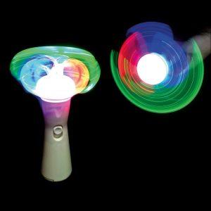 LED Short Mushroom Spinner